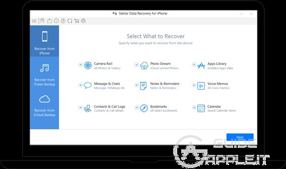 Programmi per recuperare dati cancellati da iPhone