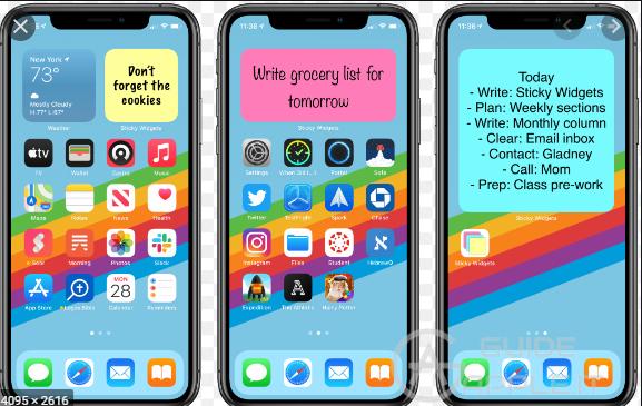 Migliori app per scrivere note/appunti in Home su iPhone