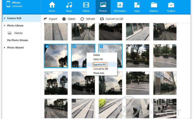 Trasferire Foto da iPhone a Mac