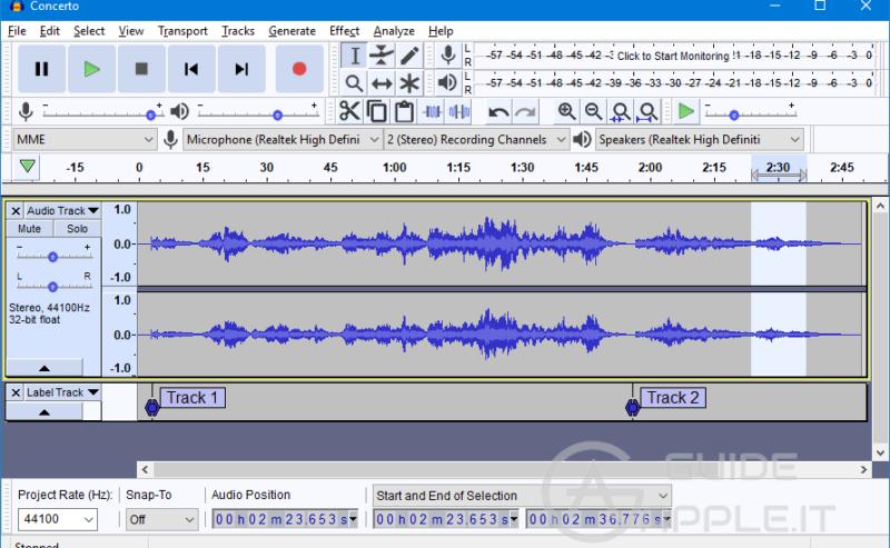 Migliori app editing audio per Mac