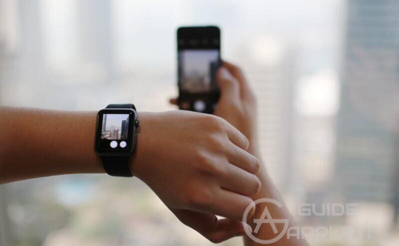 Come scattare foto con Apple Watch