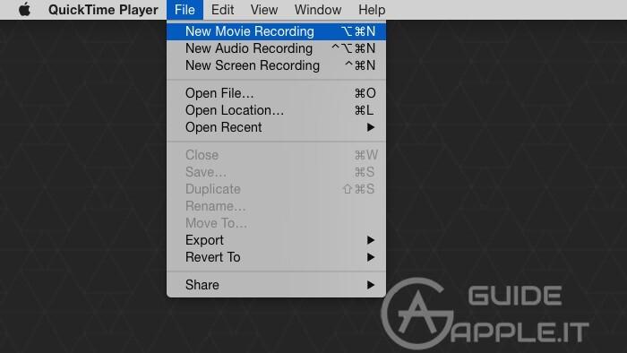 Duplicare Schermo iPhone su Mac