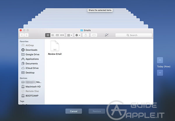 restore encrypted data on mac computer with the t2 chip