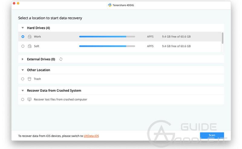 Recuperare Dati Cancellati da Mac con Chip di Sicurezza Apple T2