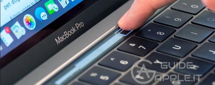 Touch Bar Macbook non Funziona. Che fare?
