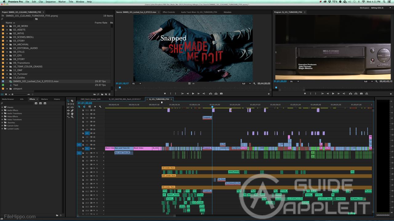 Image result for Adobe Premiere Pro CC mac