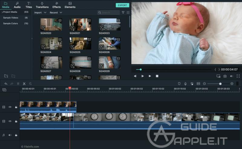 Migliori Programmi per Montaggio Video Mac