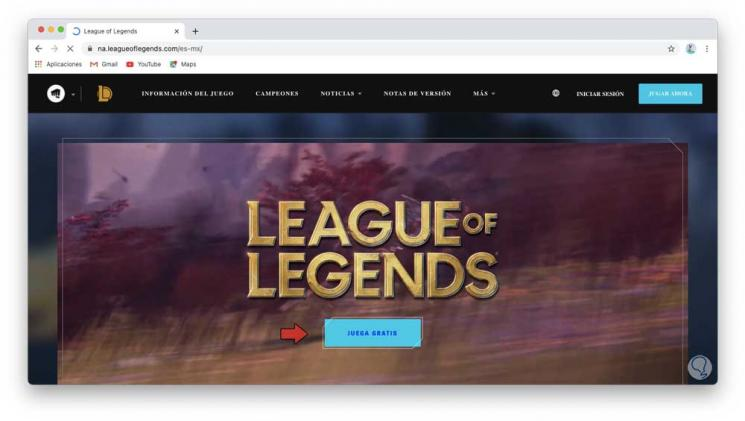 Installare League of Legends (LOL) su Mac