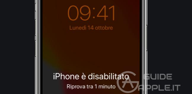 iPhone Disabilitato? Ecco 3 Modi per Risolvere