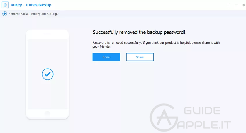 2 Modi per Sbloccare Backup iPhone Criptato