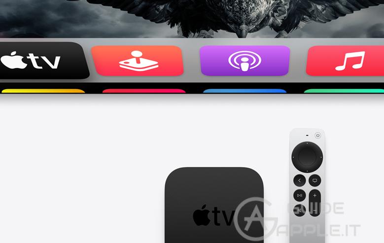 Nuova Apple TV 4k 2021